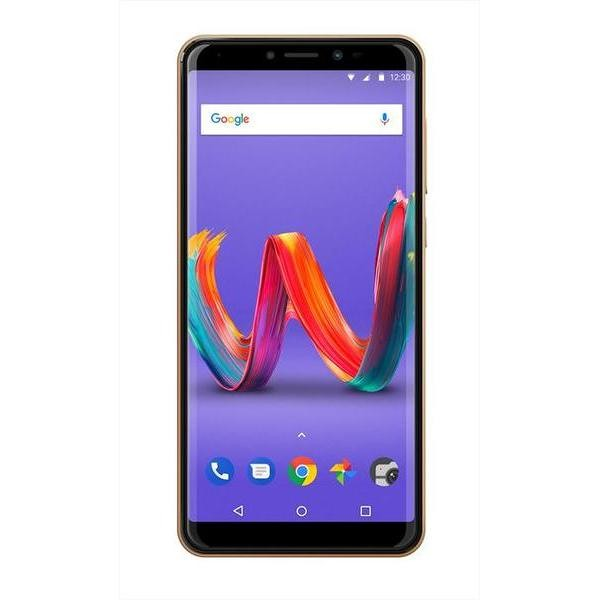 """Wiko Harry 2 Smartphone 5,45"""" HD Dual Sim memoria 16 GB Fotocamera 13 MP Android colore Oro"""