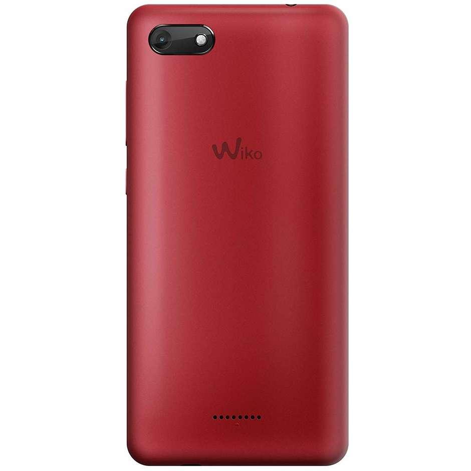 """Wiko Harry 2 Smartphone 5,45"""" HD Dual Sim memoria 16 GB Fotocamera 13 MP Android colore Rosso"""