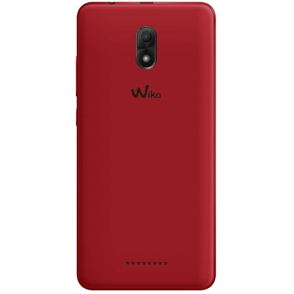 """Wiko Jerry3 Smartphone 5,45"""" memoria 16 GB fotocamera 5 Mpx Android colore Rosso"""