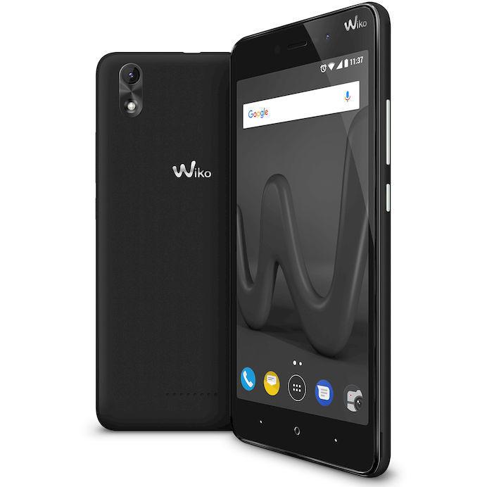 Wiko LENNY4 PLUS Smartphone Dual Sim Display 5.5 pollici Ram 1 Gb 16 Gb espandibile colore Nero