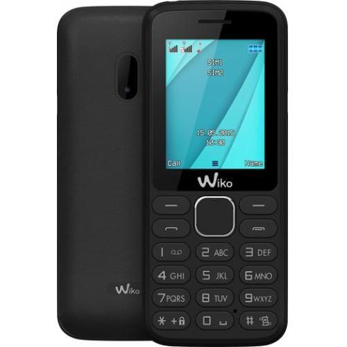Wiko LUBI4 Telefono Cellulare Dual Sim 1,77 pollici colore Nero