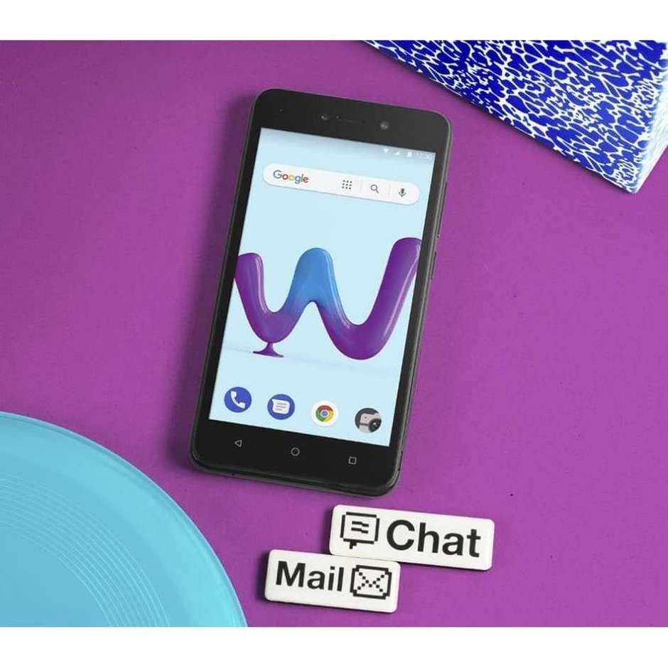 "Wiko SUNNY 3 smartphone 5"" fotocamere 5/2 Mpx Android Oreo colore antracite"