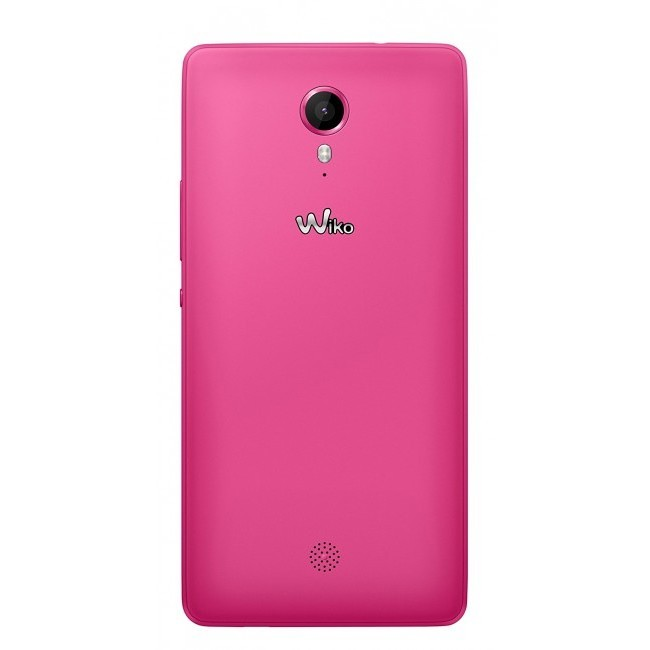 "Wiko Tommy Tim smartphone 5"" 1/8 Gb 5/8 Mpx Android hot pink"