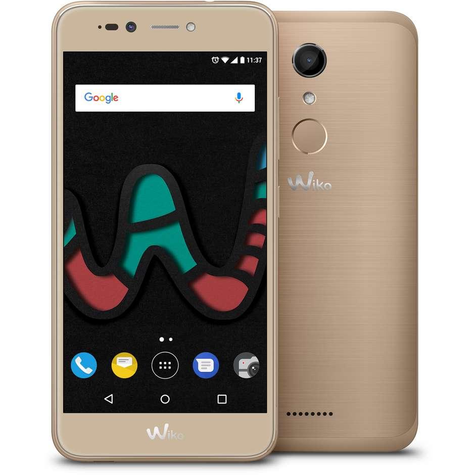 Wiko U Pulse Lite Smartphone Dual Sim Display 5.2 pollici Ram 3 Gb 16 Gb espandibile colore Oro