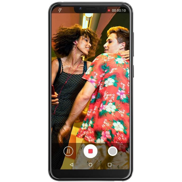 """Wiko View 2 Go Smartphone 5,93"""" Dual Sim memoria 32 GB fotocamera 12 MP Android colore Antracite"""