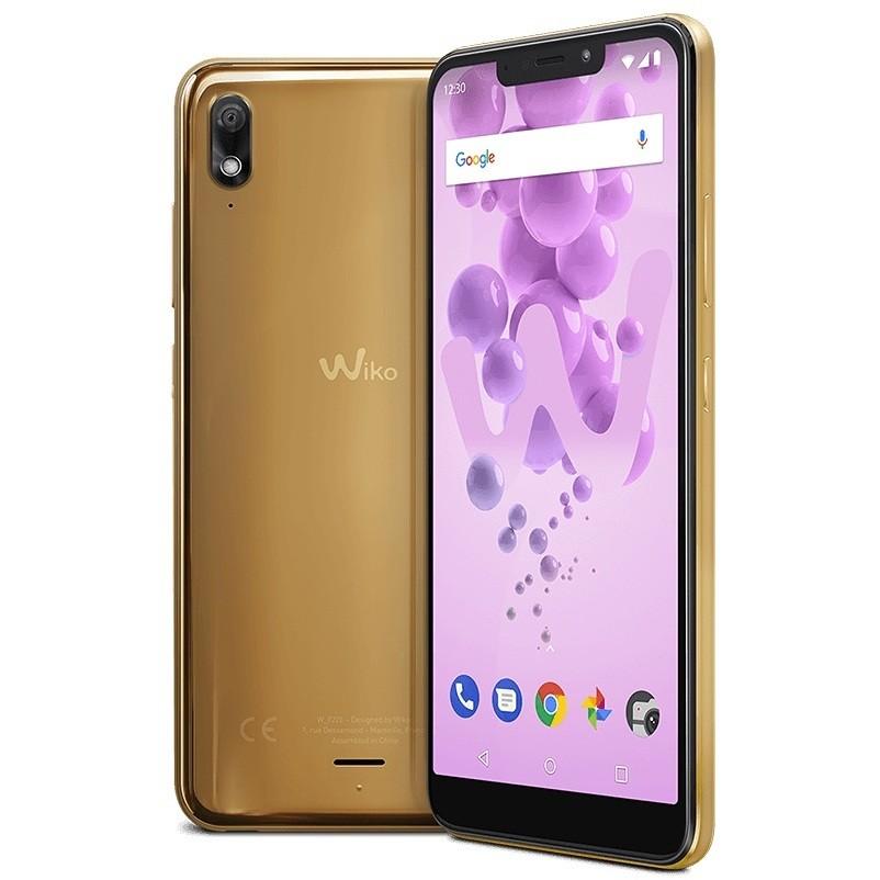 """Wiko View 2 Go Smartphone 5,93"""" Dual Sim memoria 32 GB fotocamera 12 MP Android colore gold"""