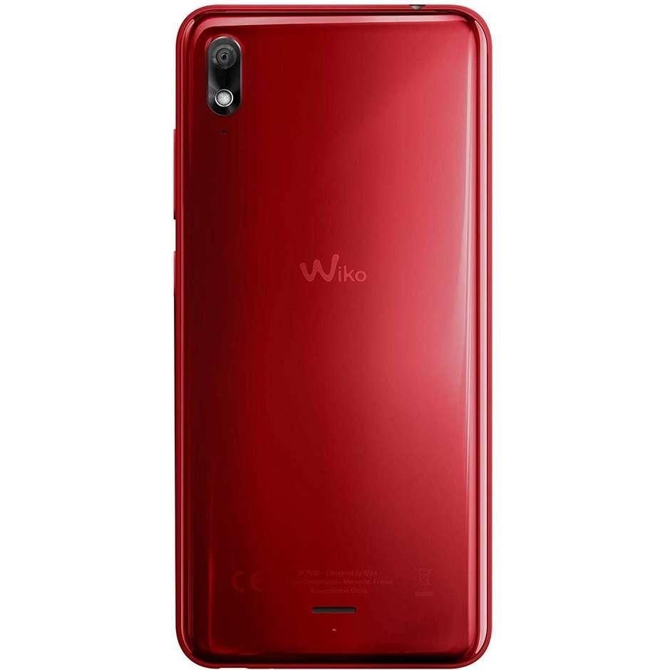 """Wiko View 2 Go Smartphone 5,93"""" Dual Sim memoria 32 GB fotocamera 12 MP Android colore rosso"""