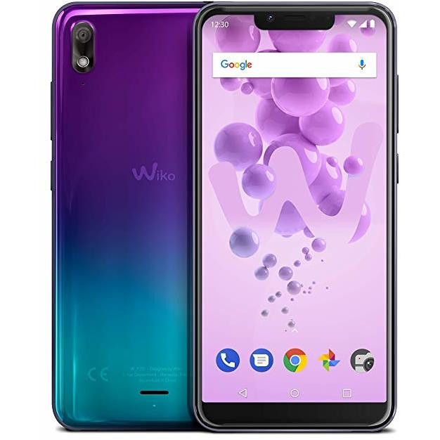 "Wiko View 2 Go Smartphone 5,93"" Dual Sim memoria 32 GB fotocamera 12 MP Android colore Supernova"