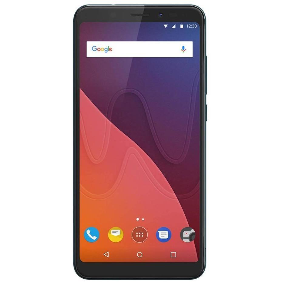"Wiko View Smartphone 5,7"" 18:9 HD+ memoria 32 GB Fotocamera 13 MP Android colore Bleen"