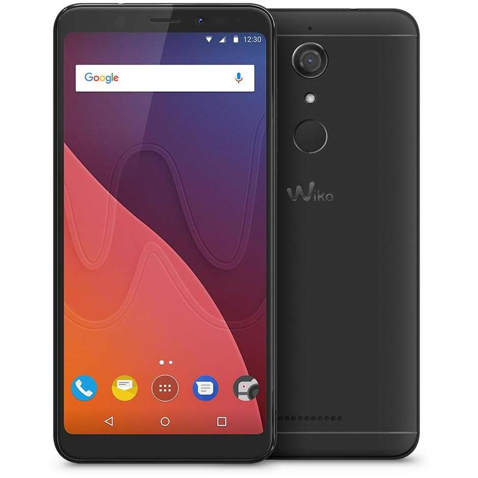 Wiko View Smartphone Dual Sim Display 5.7 pollici Ram 3 Gb 32GB espandibile colore Nero