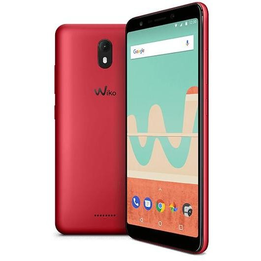 "Wiko ViewGo Smartphone 5,7"" Dual Sim memoria 16GB Ram 2GB Rete 4G/LTE colore Rosso"
