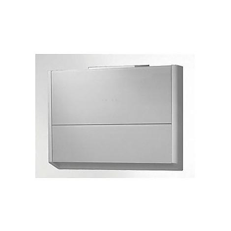 window 80 cm ix vetro bianco tecnowind cappa