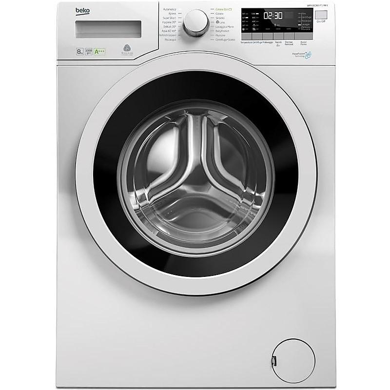 wmy-81083ptlmb3 beko lavatrice carica frontale 8kg classe a+++ 1000 giri/min