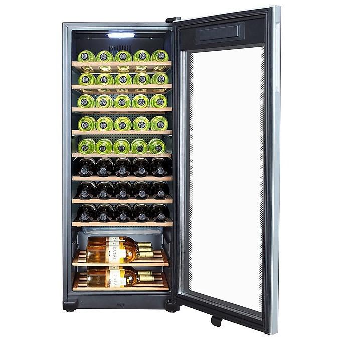 WS50GA Haier frigo-cantina classe A 167 litri 50 bottiglie nero