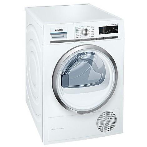 wt-45w5r9it siemens asciugatrice classe a++ 9 kg a pompa di calore con vapore