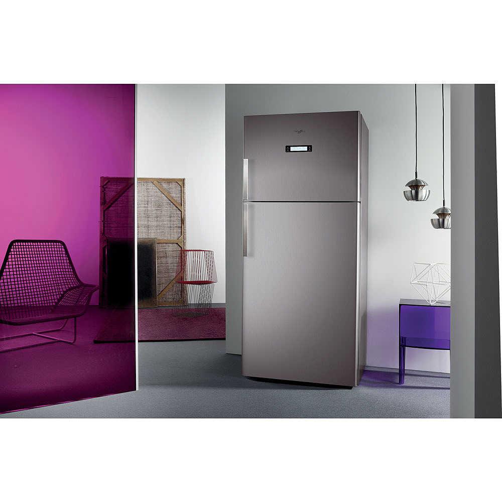 Wth5244 nfx whirlpool frigorifero doppia porta 515 litri - Frigoriferi doppia porta classe a ...