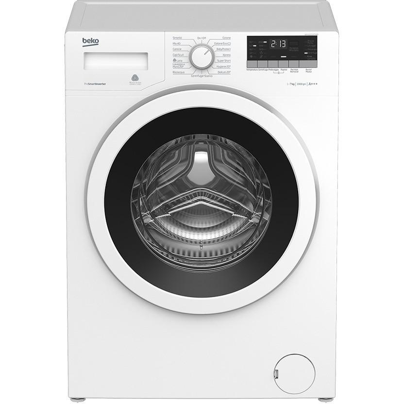 wtv-7532xw0 beko lavatrice carica frontale classe a+++ 7 kg 1000 giri