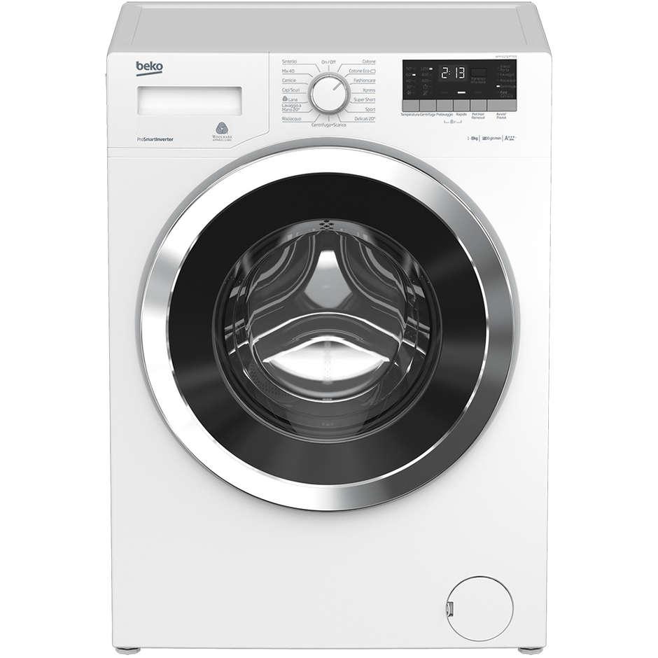 wtv-8633xc0 beko lavatrice carica frontale 8kg 1200giri classe a+++-10 pro smart inv