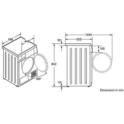 Exceptional Wtw84360it Bosch Asciugatrice