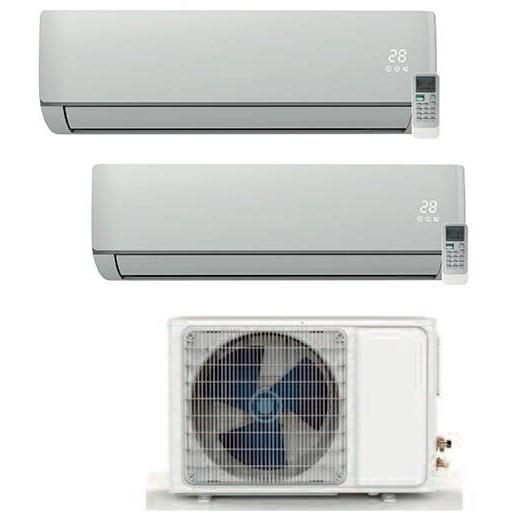 Zephir Kit ZSA 9000+12000 condizionatore fisso dual split 9000+12000 BTU inverter classe A+/A+
