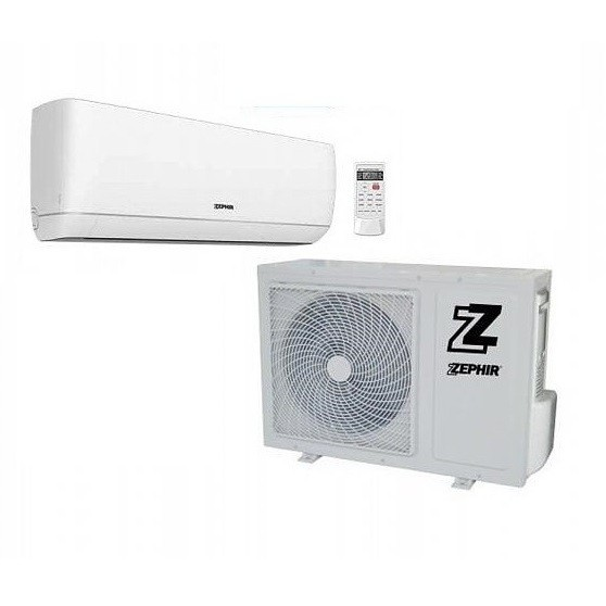 Zephir ZEL9000 Serie Elegance kit climatizzatore monosplit 9000 Btu + motore classe A++/A+