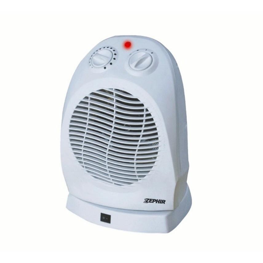 Zephir ZTRM6 termoventilatore oscillante 2000 watt due livelli di potenza colore bianco