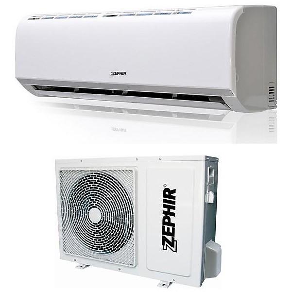 zes-9000 zephir condizionatore fisso 9000 btu inverter classe a/a